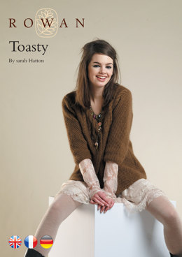 Toasty Cardigan in Rowan Kid Classic
