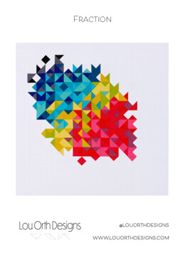 Fraction quilt pattern