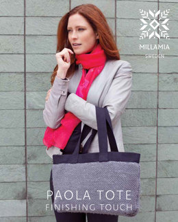 Paola Tote in MillaMia Naturally Soft Aran - Downloadable PDF