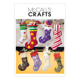 McCall's Christmas Stockings M2991 - Sewing Pattern