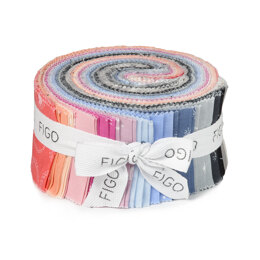 "Figo Fabrics Lucky Charms 2.5"" Strip Roll"
