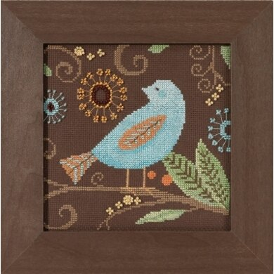 Mill Hill Aqua Bird Cross Stitch Kit