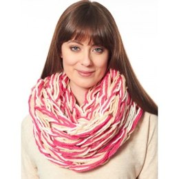 Arm Knit Cowl in Bernat Softee Chunky