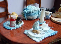 1:12th scale breakfast set