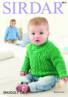 Sweaters in Sirdar Snuggly DK - 4815 - Downloadable PDF
