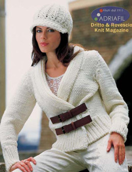 Greta Twin set in Adriafil Charme - Downloadable PDF