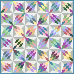 Michael Miller Fabrics Diamonds Quilt - Downloadable PDF