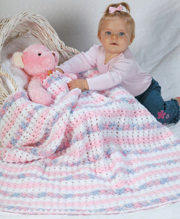 Sweet Dreams in Red Heart Red Heart Baby Econo Solids and Prints & Multis - LW1421 - Downloadable PDF