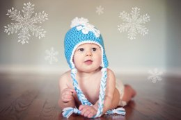 Winter Snowflake Hat