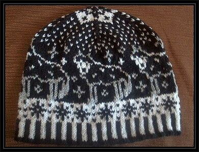 Lonely wolf beanie