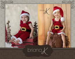 Gnome and Santa Newborn to Child 5