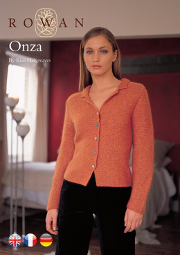Onza Cardigan in Rowan Kid Classic