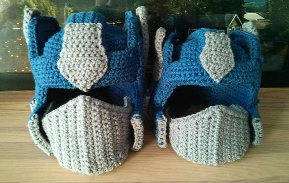 Boss Bot Inspired By Optimus Prime Crochet Pattern By Canadaked