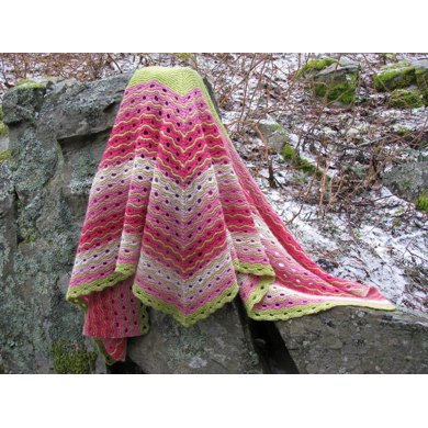 Mille-Feuille Shawl 490