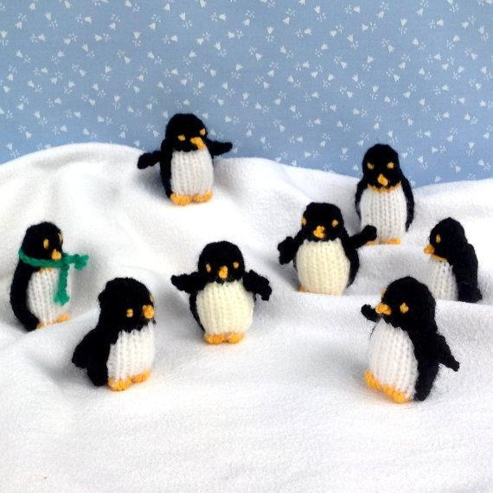 Tiny penguins knitting pattern by fuzzytuft bankloansurffo Images
