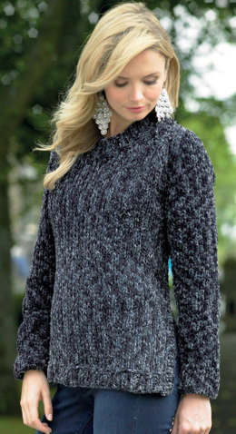 Ladies Sweater and Cardigan in James C. Brett Flutterby Animal Prints Super Chunky - JB334 - Leaflet