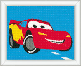 Vervaco Tapestry Kit: Disney: Lightning McQueen