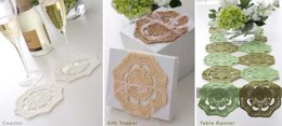 Doily - 3 Ways in Bernat Handicrafter Crochet Thread