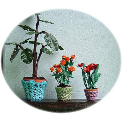1:12th scale plant pot covers