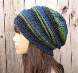 Crochet hat multicolored