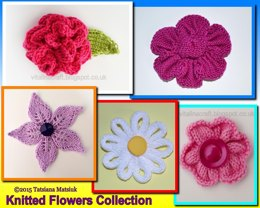 Knitted Flowers Collection