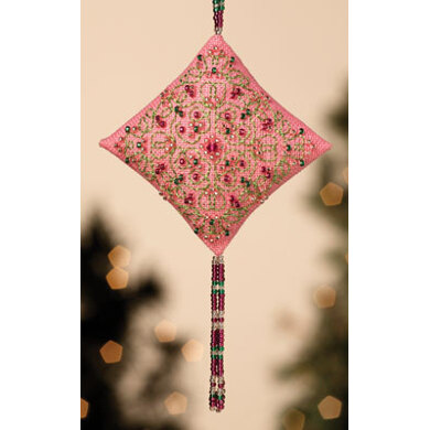 Mill Hill Pink Champagne Beaded Kit with Treasures
