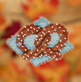 Mill Hill Pretzel Ornament Cross Stitch Kit - Multi