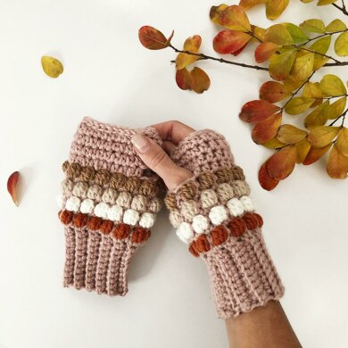 Horizon Fingerless Gloves