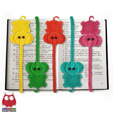 Elephant bookmark or decor