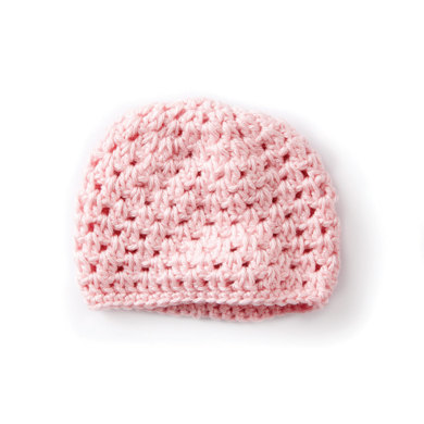 Babys First Cluster Crochet Hat In Caron Simply Soft Downloadable Pdf