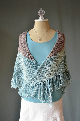 Seabird Shawl in Fibra Natura Good Earth - 1073 - Downloadable PDF