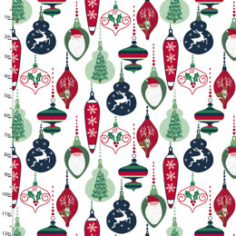 3 Wishes Fabric Believe - Ornaments