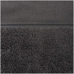 Rico Anthracite Guest Towel