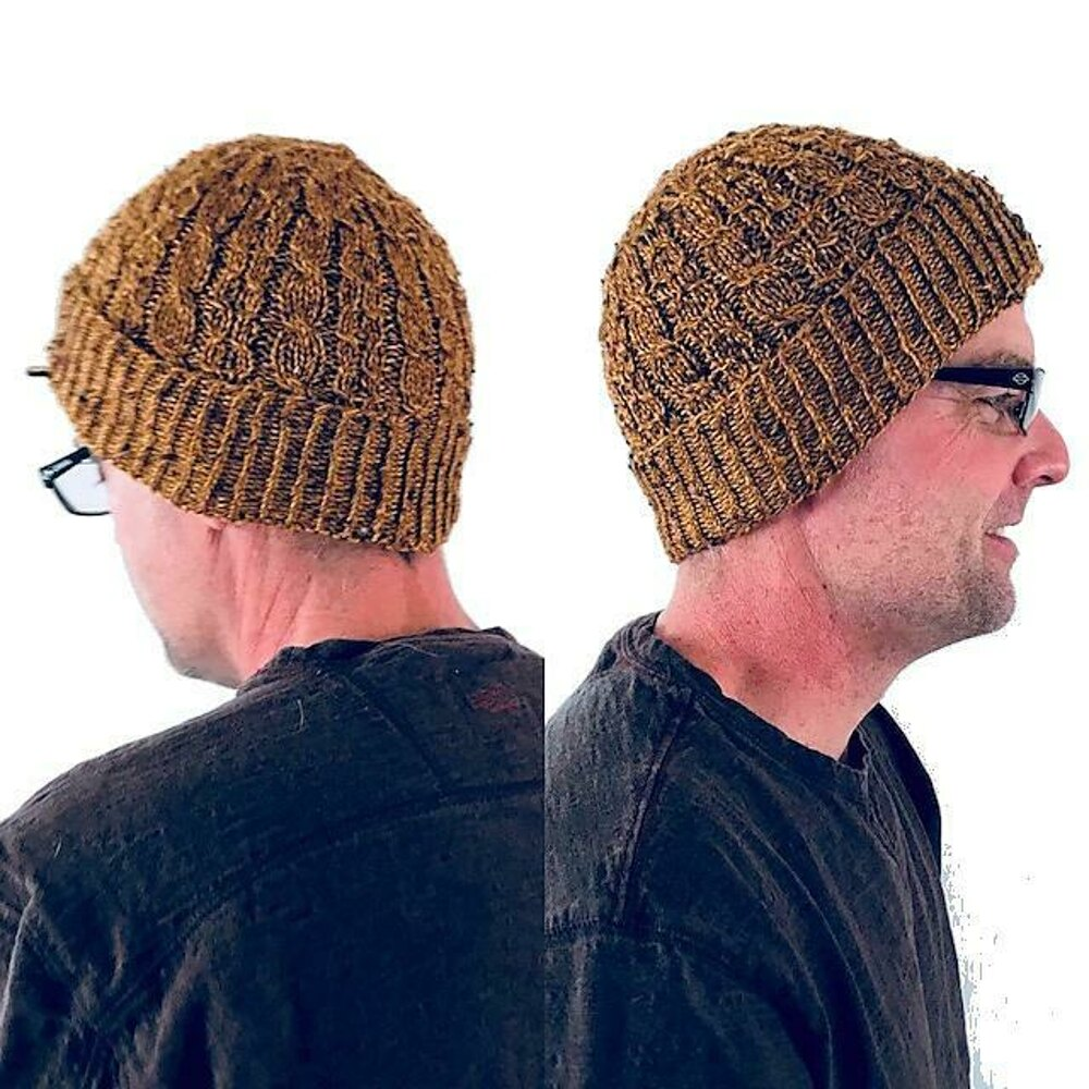 Ray s Watch Cap Knitting pattern by Lovely by Lee 7b38ae41a22
