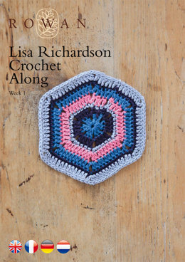 Lisa Richardson Crochet Along Week 1 in Rowan Summerlite 4 Ply