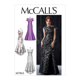 McCall's Misses' Dresses M7865 - Sewing Pattern