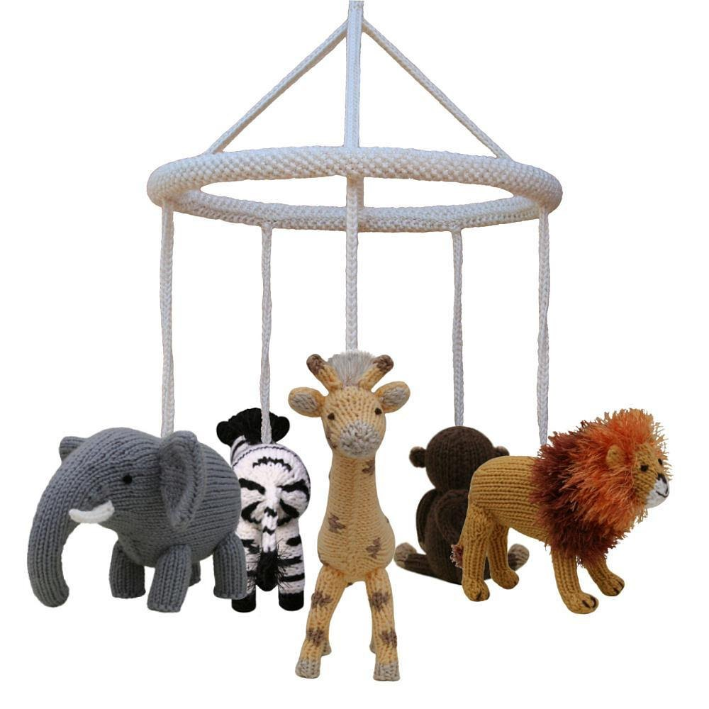 Cot Mobile Frame Animals Not Included Knitting Pattern