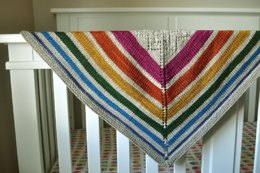 Sunshower Baby Blanket