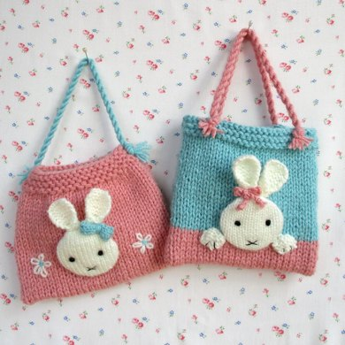 Bunny Bags Knitting Pattern By Dollytime