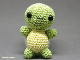 Mini Amigurumi Turtle