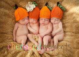 Pumpkin Beanie / Fall / Halloween Hat
