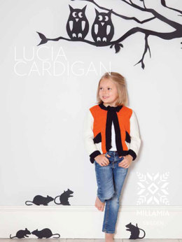 Lucia Cardigan in MillaMia Merino Wool - Downloadable PDF