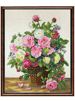 Janlynn Roses Cross Stitch Kit - Multi