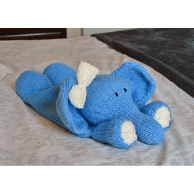 Elephant pyjama case knitting pattern by knitting by post - Pyjama elephant ...