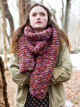 Wood Lily Scarf in Berroco Gusto