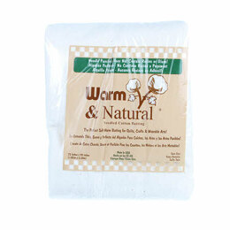 Warm Company Batting Warm & Natural Cotton 72in x 90in