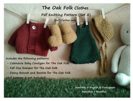 Clothes for The Oak Folk Set A