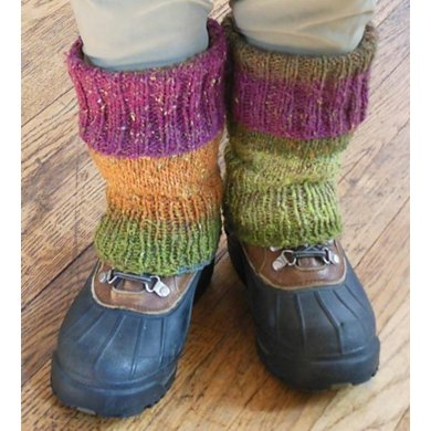 Easy Fitted Leg Warmers