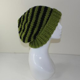 Extra Roomy Stripe Big Beanie