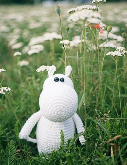 Crocheted Moomin